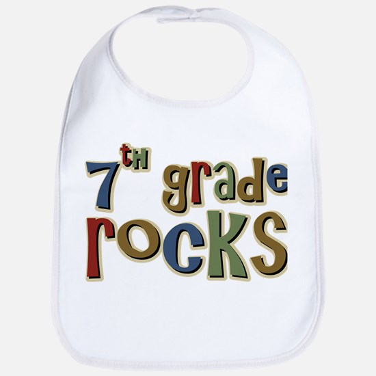 7th Grade Rocks Seventh School Bib