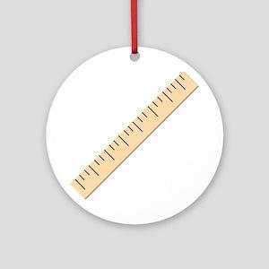 Ruler Ornament (Round)