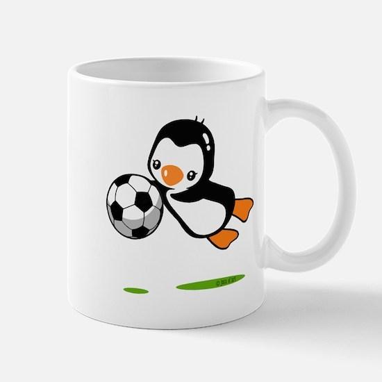 Soccer Penguin Mug Mugs