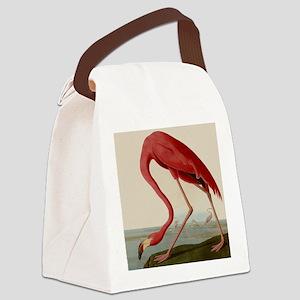 Exquisite Vintage Flamingo illustration Canvas Lun