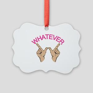 Whatever Picture Ornament