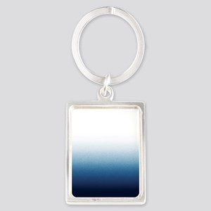 Beautiful Indigo Blue Ombre Keychains