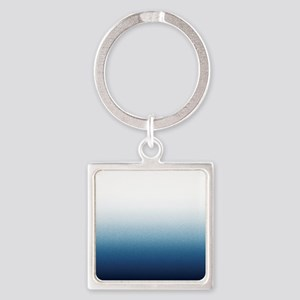 Beautiful Indigo Blue Ombre Keychains