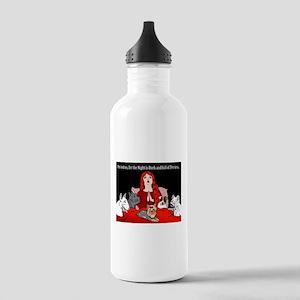 Night of Terriers Water Bottle