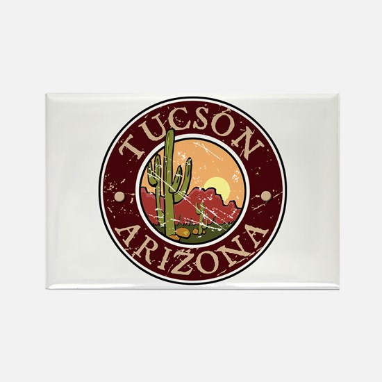 Tuscon Rectangle Magnet