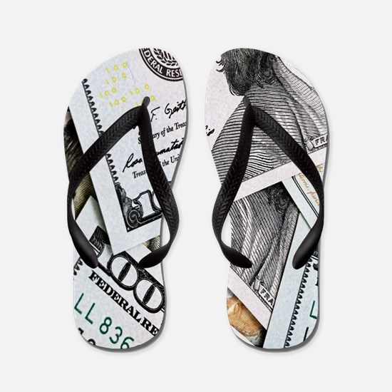 Benjamin franklin Flip Flops