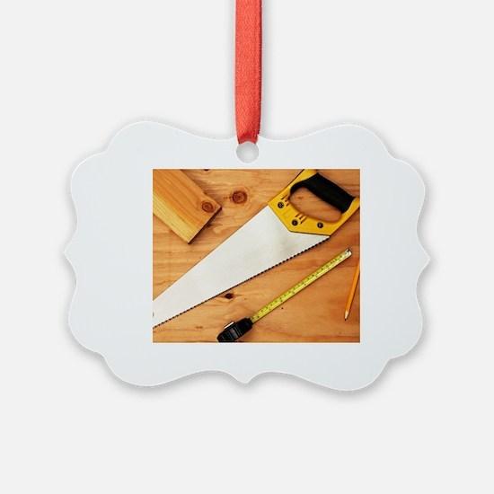 Unique Wood cutting Ornament