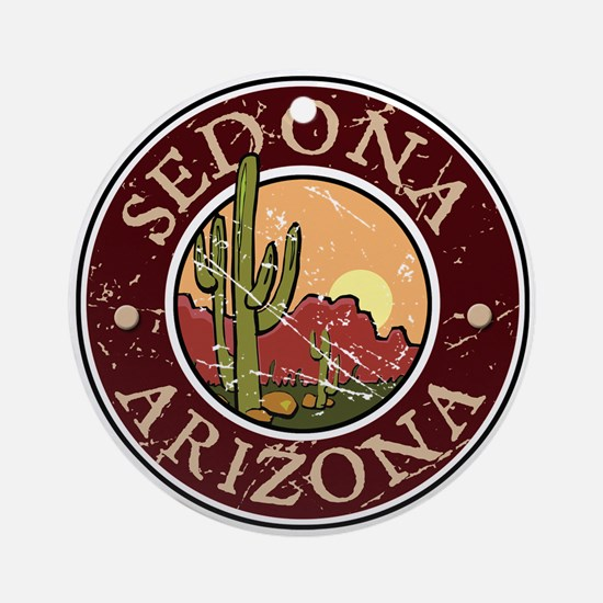 Sedona Ornament (Round)