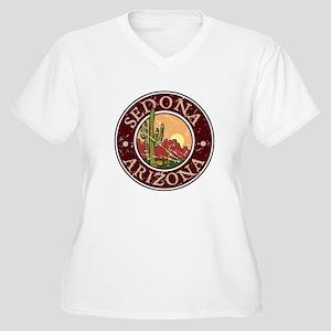 Sedona Women's Plus Size V-Neck T-Shirt