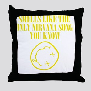 Only song Throw Pillow