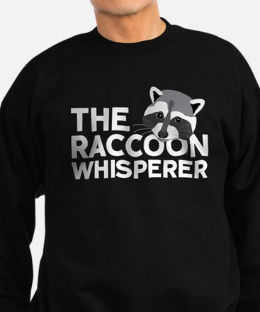 The Raccoon Whisperer Sweatshirt (dark)
