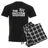 Racoon Men's Dark Pajamas