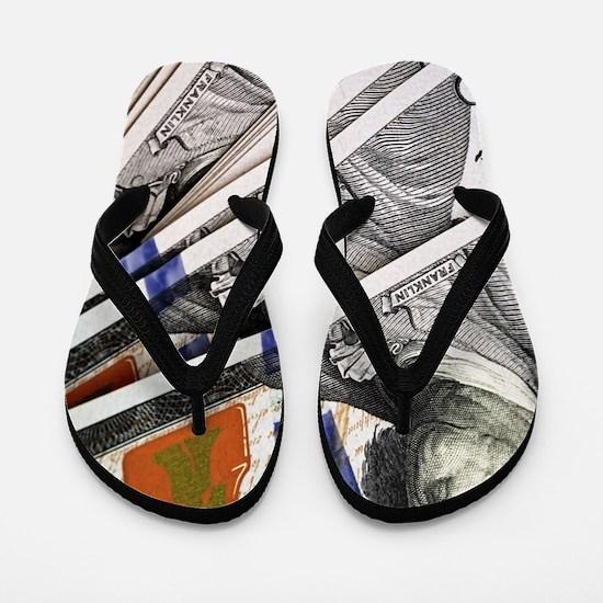 Cool Benjamin franklin Flip Flops