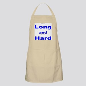 Long and Hard BBQ Apron