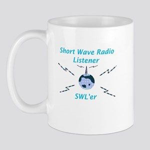 Short Wave Radio Listener Mug