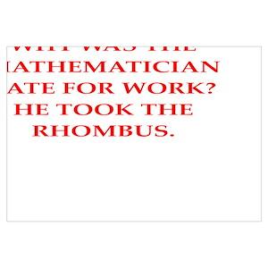 Funny Math Phd Wall Art Cafepress