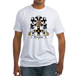 Beauvais Family Crest  Fitted T-Shirt