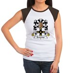 Beauvais Family Crest  Women's Cap Sleeve T-Shirt