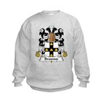 Beauvais Family Crest  Kids Sweatshirt