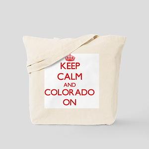 Keep calm and Colorado ON Tote Bag
