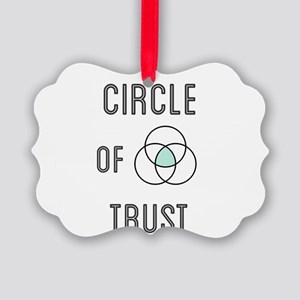 Circle of Trust Picture Ornament