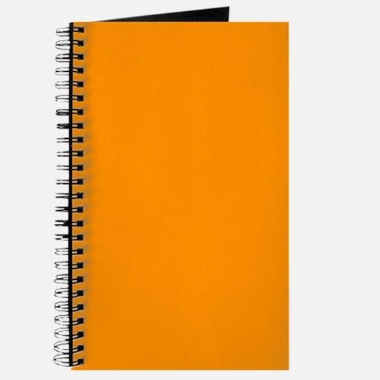 Solid Princeton Orange Journal