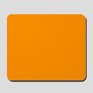 Solid Princeton Orange Mousepad