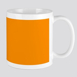 Solid Princeton Orange Mugs