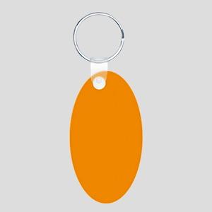 Solid Princeton Orange Keychains