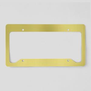 Gold License Plate Holder