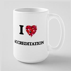 I Love Accreditation Mugs
