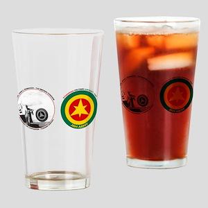 Brown Condor & Ethiopian Air Force Drinking Glass