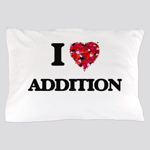 I Love Addition Pillow Case
