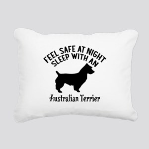 Sleep With Australian Te Rectangular Canvas Pillow