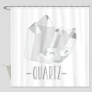 Quartz Crystal Shower Curtain