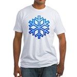Snowflake Fitted T-Shirt