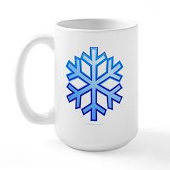 Snowflake Large Mug