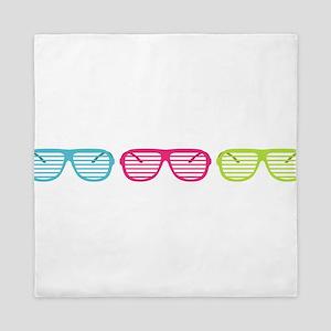 Eighties Shades Sunglasses Queen Duvet