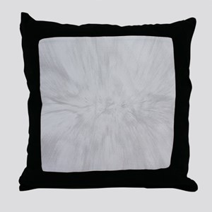 Gray Marble Design Throw Pillow