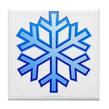 Snowflake Tile Coaster