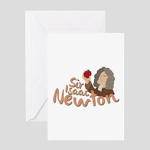 Sir Isaac Newton Greeting Cards