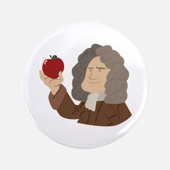 "Isaac Newton 3.5"" Button (100 pack)"