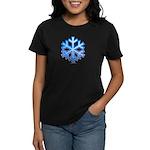 Snowflake Women's Dark T-Shirt