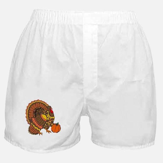 Holiday Turkey Boxer Shorts