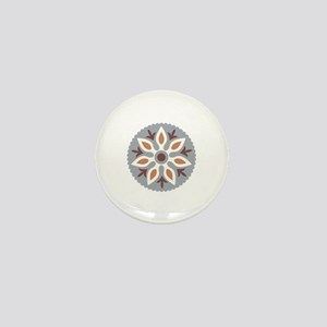 Bohemian Mandala Mini Button