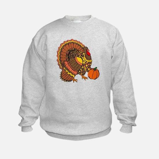 Holiday Turkey Sweatshirt