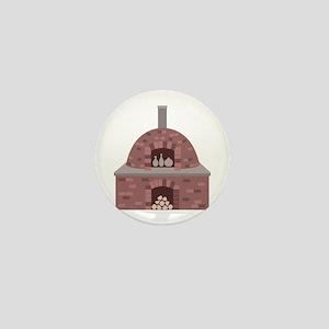 Pottery Kiln Mini Button