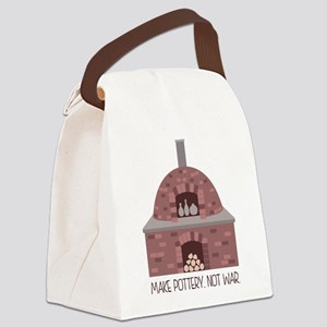 Pottery Kiln No War Canvas Lunch Bag