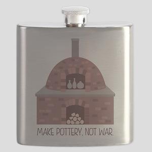Pottery Kiln No War Flask