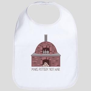 Pottery Kiln No War Bib